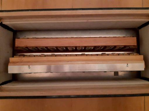 Firotti 3-row button accordion 41 buttons C system/80 standard bass