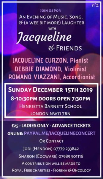 Jacqueline Curzon and Friends Flier