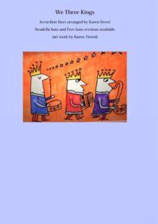 We Three Kings - Duet Sheet music cover