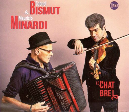 Maurizio Minardi and Gabriel Bismut Album cover - Le Chat Brel