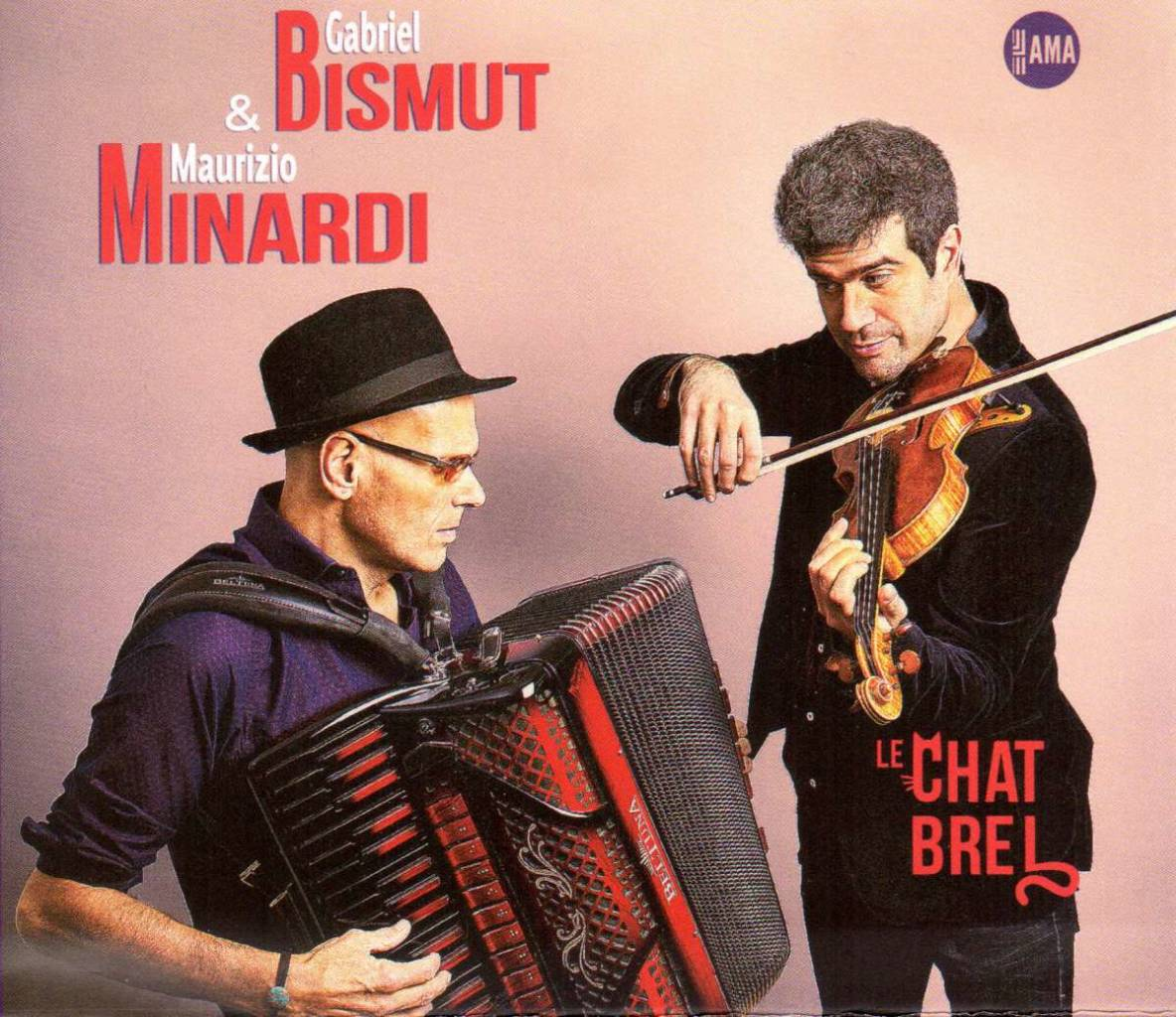 Maurizio Minardi and Gabriel Bismut Album cover - Le Chat Brel