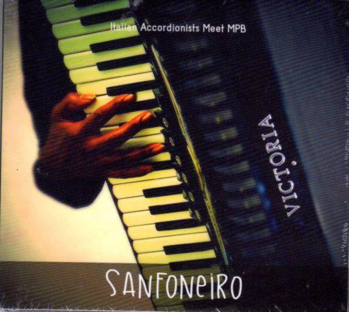 Sanfoneiro CD Cover with Victoria Accordion