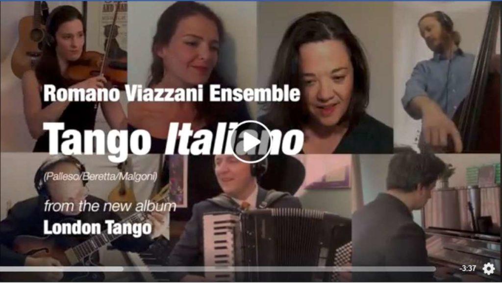 Tango Italiano Lockdown video Screenshot