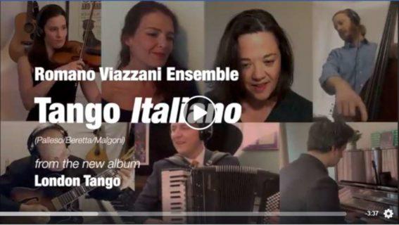 Tango Italiano Lockdown video Screenshot
