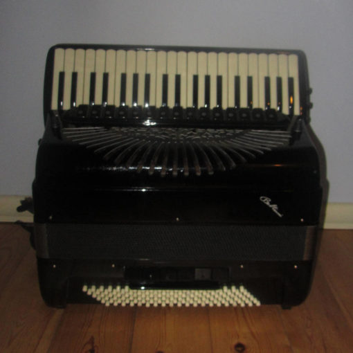 Piano Accordion with C system Free Bass Converter Double Cassotto. Hand Made Reeds