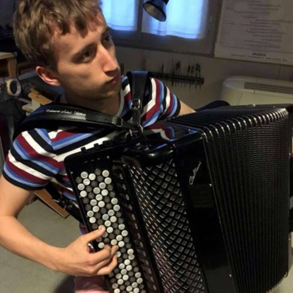 Ben de Sousa with his new Beltrami CVC5