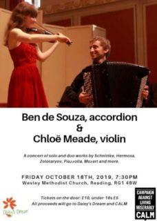 ben-de-souza-chloë-meade-reading-concert-flier