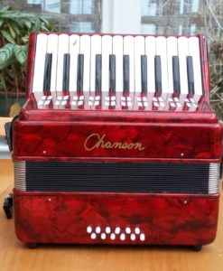 Chanson accordion 25-12