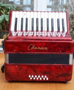 Chanson accordion 25-12