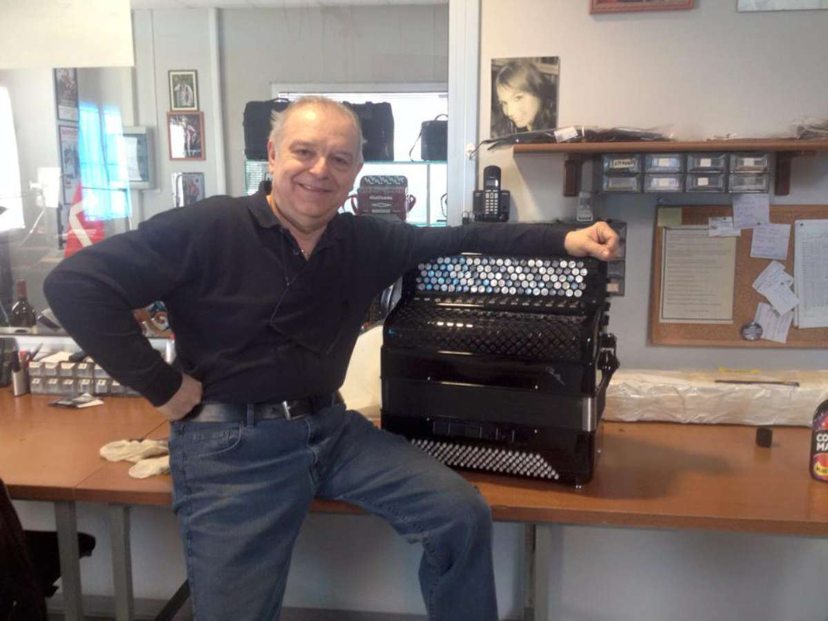 Claudio Beltrami with Ben De Sousa's CVC5
