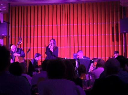 Joanna Strand and Ensemble, Romano Viazzani on accordion, John Bailey on Piano, Yaron Stavi on Double Bass, Jason Reeve on drums.