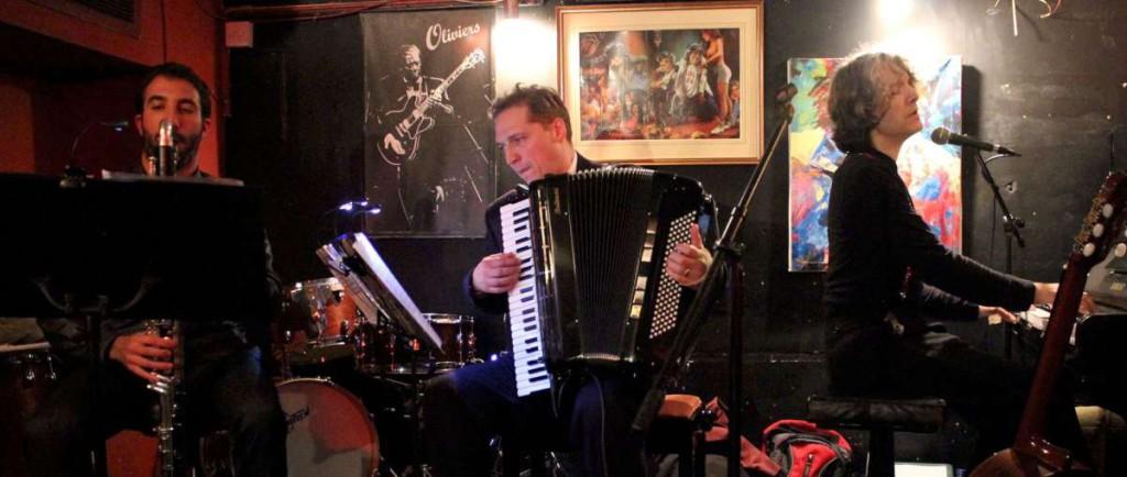 David Vaughan at Olivers