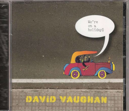 David Vaughan CD We're on a holiday-1-1200