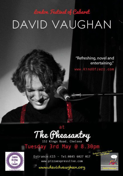 David Vaughan - The Pheasantry - 3rd May 2016