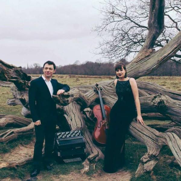 Iosif Purits Ceclia Bignall accordion and cello - Duo Bayanello