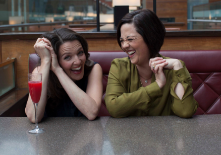 Joanna Strand and Jacqui Tate at The Crazy Coqs