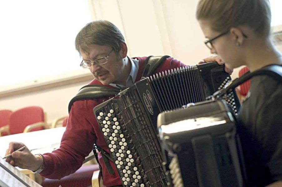Matti Rantanen- accordion professor