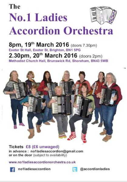 No1 Ladies Accordion Orchestra
