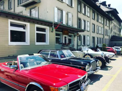 Classic Cars at the Grand Hotel des Rasses