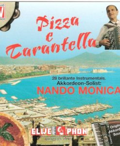 A bumper double-length album on one CD of no less than 28 delightful pieces of music ranging from light classics to continental ballroom and latin-american. Nando Monica with his trademark clarity really excels especially in the delightfully played Poet and The Peasant Overture by Franz Von Suppé. Pizza e Tarantella -Tarantella (Nando Monica/Fausto Fulgoni) Naples by day - Samba (Jose Chillo/Luci Durian/Otto Kracht) Sorriso - Waltz (Nando Monica/Luci Durian) Gardez - Tango (Horst Gubbatz) Swing in Blue - Medium Swing (Nando Monica/Luci Durian) Dichter un Bauer (The Poet and the Peasant) - Overture (Von Suppé - arr. Nando Monica/Bruno Mussini) Das Verruckte Akkordeon - Ritmo Allegro (Michele Corino/Nabbini arr. Luci Durian) Variety - Waltz (Luciano Wurzburger) Samba Night -Samba (Erwin Lehn) Tangordeon - Tango (Luciano Wurzburger/Otto Kracht) Mademoiselle Musette - Valse Musette (Otto Kracht) Nando's Mambo - Mambo (Nando Monica/Luci Durian) Bright Eyes - Slow (Nando Monica/ Luci Durian/ arr. Otto Kracht) Prestige - Musette Swing Waltz (Nando Monica) Bienvenido - Paso Doble (Horst Gubatz) Tangordeon - Tango (Luciano Wurzburger/arr. Otto Kracht) Sommertraum (Sogno D'estate) - Waltz (Nando Monica/Luciano Wurzburger) Marasco - Guaracha/Salsa (Nando Monica/ Luci Durian) Samba Power - Samba (Luciano Wurzburger/arr. Otto Kracht) Blaue Allee - Slow (Erwen Lehn) Remember me to Samy - Valse Musette (Luciano Wurzburger/ arr.Otto Kracht) Zingaresca - Ritmo Allegro (J. Roversol/ arr. Luci Durian) Premiere - Valse Musette (Luciano Wurzburger) Tangorsita Tango (Luci Durian/Otto Kracht) Recuerdo - Lambada (Horst Gubatz) Walzer fur Marleen - Waltz (Nando Monica/Luci Durian) Italienische Nacht (Notte Italiana) - Beguine ( G. Robuschi/Nando Monica/Luci Durian) Mega Polka - Polka (Bruno Mussini)
