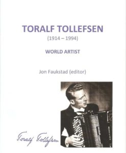 'Toralf Tollefsen World Artist' is a fascinating and very readable book about the life, career and achievements of Toralf Tollefsen (1914-94), a much loved and internationally renowned accordionist from Norway, a man who truly became a legend in his lifetime. First published (in Norwegian) in 1994 to celebrate Tollefsen's 80th birthday, this book is not actually a biography as such, but an anthology edited by Jon Faukstad containing a lengthy in-depth biographical interview with the great man by Faukstad, four informative articles about Tollefsen and his very significant contribution to the accordion (written by Mogens Ellegaard, Ola Kai Ledang, Jon Faukstad, and Birger Ostby), plus a complete and detailed discography, compiled by Tom Valle. Toralf Tollefsen has long been a legendary figure in the accordion world, especially in Britain where he lived between 1936/39 and 1946/61. There have been other accordionists equally skilled, but few could match Tollefsen's charisma, stage presence or reputation, or the deep impression he made on a generation of accordionists in this country whose progress was often measured by how well they could play compositions and arrangements bearing Tollefsen's name. This newly published English-language version tells a great deal about Tollefsen's lifelong dedication to the accordion, and the reader will learn much about his ambitions, thoughts on repertoire, performance, his instruments, playing experiences in Britain and the USA, and his philosophy about life. The life of Tollefsen is, in a sense, the story of the modern accordion in Britain and Europe as this was the man whose long-held and eventually realised dream it was to pioneer the accordion's transition from variety theatres to the classical concert stage, introducing the free bass instrument in the process. In the interview section Tollefsen discusses how he went from variety to classical music in the post-war years, and the problems he had to overcome with this transition. Originally published in Norwegian, 'Toralf Tollefsen World Artist' has been painstakingly translated and updated by Owen Murray, with assistance from Olga Jorgensen for the translation of the article by Professor Ola Kai Ledang. Special mention should be made of the initiative of Roland Williams, whose enthusiasm brought this project to fruition.