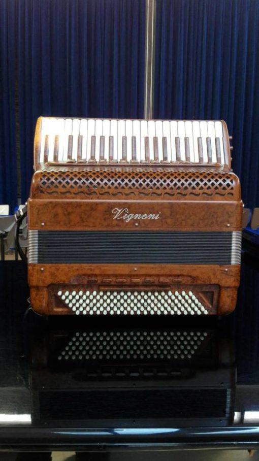 Vignoni 41/120 5/5 C-griff free bass piano accordion