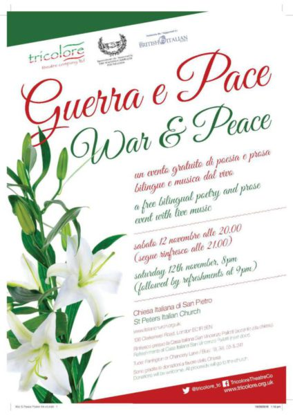 Guerra e Pace - War and Peace Poster