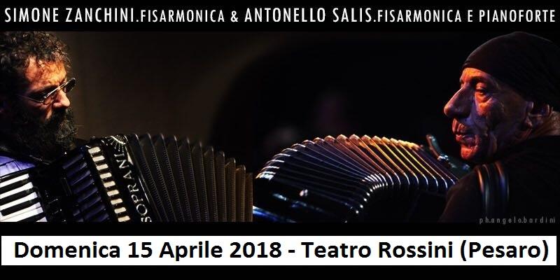 Simone Zanchini e Antonello Salis