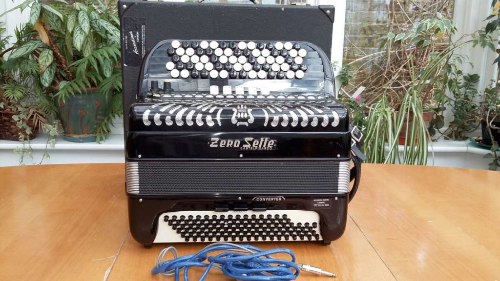 Zero Sette-39key96bass40free bass classical converter accordion-bayan