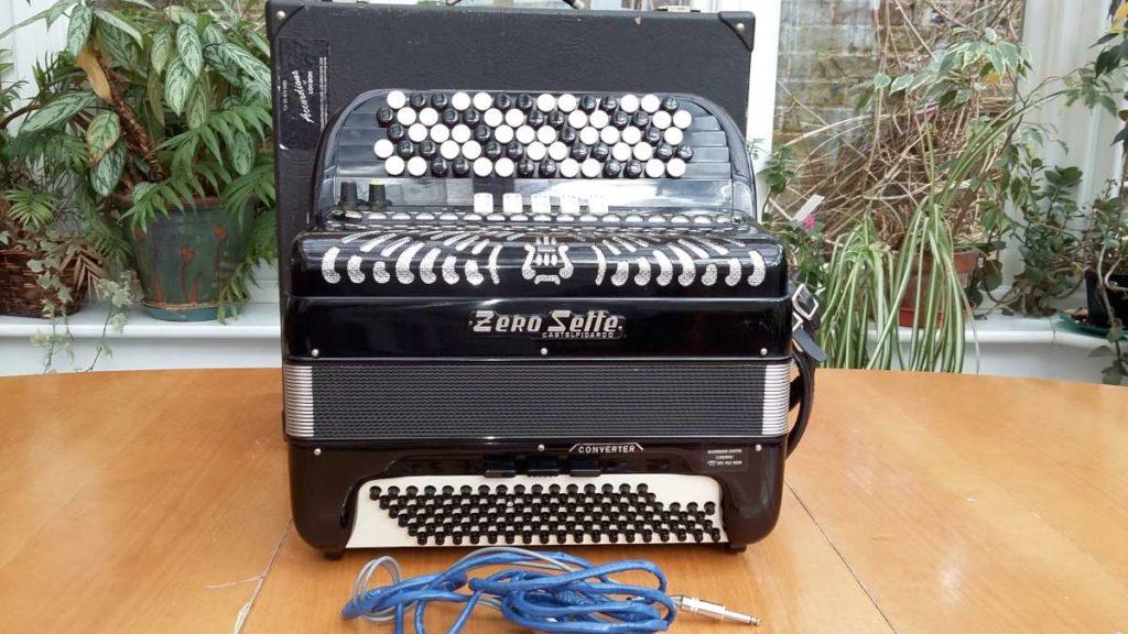 Zero Sette-39key96bass40free bass classical converter accordion-bayan