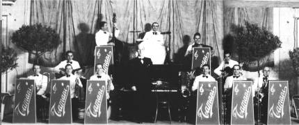 Orchestra Tamani in 1946 after Gigi Stok had already left. Accordionist picture is Piero Barbieri