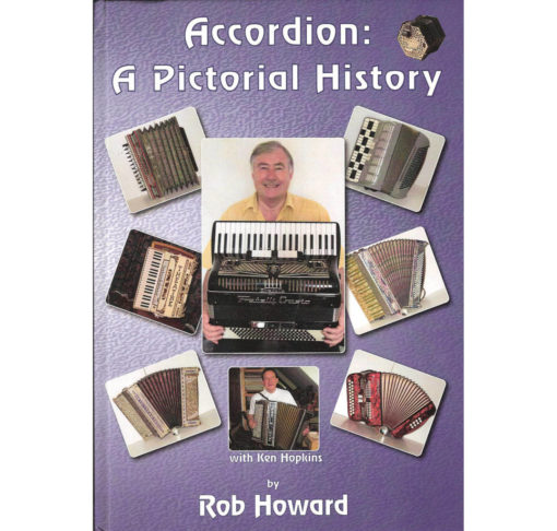 The second in the series of books showing some of the amazing forms accordions have taken over the years. Lots of great colour pictures. A real historic record.
