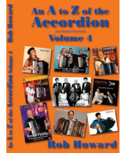 The third in the series of fun books by Rob Howard about all sorts of accordion bric-a-brac including history, performance tips and many historic profiles such as Don DeStefano, Rico De Stefano, Richard Galliano, Eddy Jay, Maurice Larcange, Owen Murray, Mika Vayrynen, Romano Viazzani. Lots of great black and white pictures too.