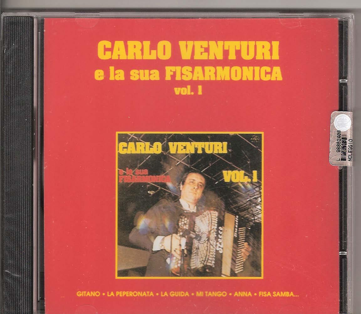 Carlo Venturi e la sua Fisarmonica Vol.1 Carlo Venturi. The hugely talented Carlo Venturi and his ensemble playing some of his greatest hits: Gitano (Venturi), La peperonata (Venturi), La guida (venturi) Mi tango (Venturi-Modoni), Anna (Condi-Totti), Fisa Samba (Venturi -Brausi), Il cantoniere (Venturi),Teresa (Guerra), Romero (Venturi), Chimere (Venturi), El Gaucho (E. Ballotta), A barbara (Venturi), Pepito (Venturi), Moscardino (Brausi), Tango Spagnolo (Venturi), Il corvo (Bonfanti), Ricordando Papa` (Venturi)