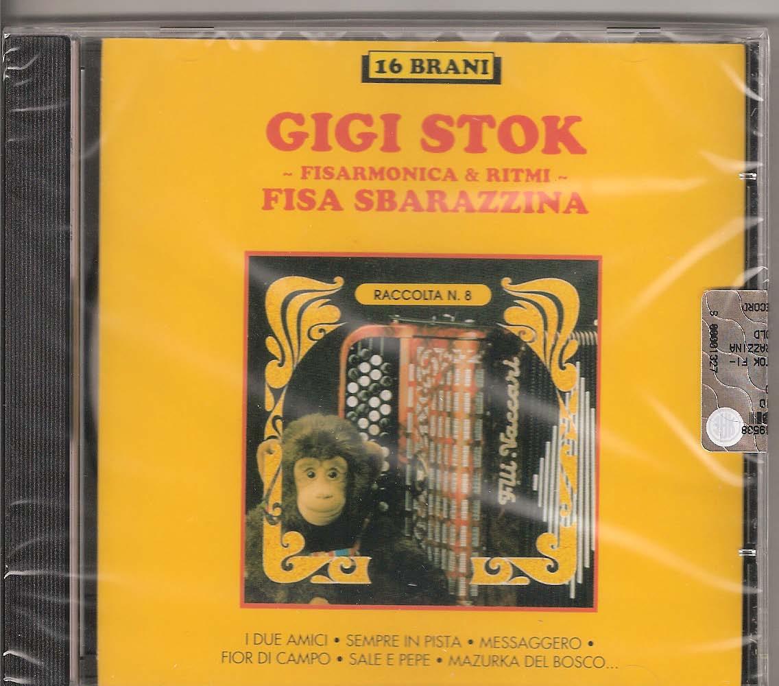 Gigi Stok -Fisa Sbarazzina Gigi Stok. The master himself and his ensemble playing some of his collaborations and duets with other accordionists: I due amici with Barimar((Stok-Barimar), Frenesia (Barimar),La dinamica (Stok),Sempre in pista (Stok) Frutto di Mare with De Marco (Stok-De Marco) Messaggero (Stok-Arnoby), Fior di campo (Stok-Arnoby-De Marco) Sale e pepe (Stok-Arnoby-De Marco), Mazurca del bosco (Stok-Arnoby) Sogno d'estate (Stok-Arnoby), Leggiarda (Stok-Arnoby), Scabroso (Benelli) Tango di Violetta (Verdi-Elab. Klose), Il grande massari (Stok-Massari), la grintona (Stok)