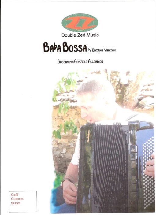 A lovely bossanova by Romano Viazzani for standard bass accordion.