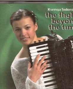 At the tender age of 16 the London-based Latvian accordionist Ksenija Sidorova already showed signs of the kind of fabulous artist she has since become. Here is the accordion sensation's debut CD. Limited stocks and one for the collector. Preludio e Fuga (Fugazza) Sonata in G Major (Scarlatti) Prelude e Fugue in C Minor (J.S Bach) The Flight beyond Time - (Makkonen) Romance (F.Angelis) Malaguena (E.Lecuona) Concert Czardas (Derbenko)