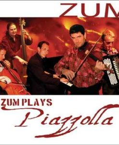 The successful British-based Gypsy-Tango band featuring Eddie Hession on Accordion in their album interpreting Piazzolla in their own inimitable and uniquely entertaining way. This is the next best thing to seeing and hearing them in a live performance. Allegro Tangabile (Piazzolla) ZUM (Piazzolla) Revirado (Piazzolla) Violin Prelude (Summerhayes/Gordon) Oblivion (Piazzolla arr. David Gordon) Diminished Tango (David Gordon) Bass and Cello Prelude (Adam Summerhayes/David Gordon) Escualo (Astor Piazzolla arr.Adam Summerhayes) Adios Nonino (Piazzolla arr. David Gordon) Accordion Prelude (Adam Summerhayes/David Gordon), Coral (Piazzolla) Concierto para Quinteto (Piazzolla) Postlude (Adam Summerhayes/David Gordon)