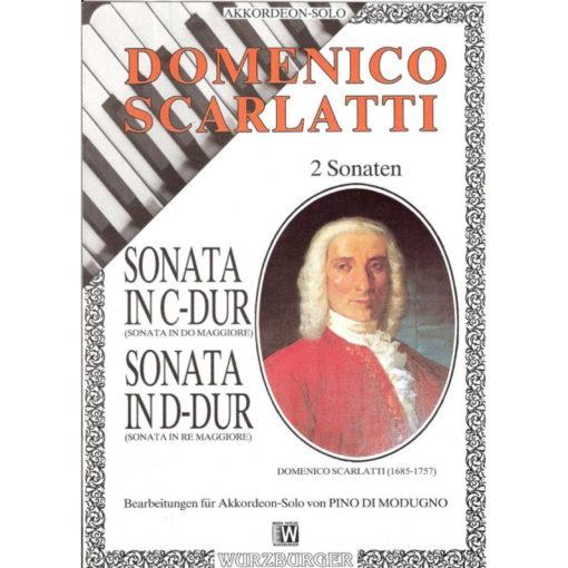 2 Sonatas by Domenico Scarlatti, cleverly arranged for standard bass accordion. The Sonata in C Major K.159 and the Sonata in D major K436