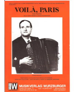 A lovely Musette waltz from Nando Monica, another one of those masters of the popular accordion from Parma, Italy the region that gave rise to accordionists such as Gigi Stok, Barimar, Umberto Allodi and many of the accordionists who migrated to Paris such as Louis Ferrari and Tony Murena.