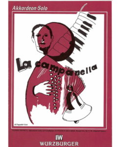 A wonderful transcription of La Campanella by Nando Monica for Standard (Stradella) Bass accordion. This piece is for advanced players. 6 pages in length.