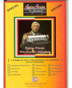 A 12- piece album of waltzes, tangos, polkas, and swings by the wonderful Italian accordionist Peppino Principe
