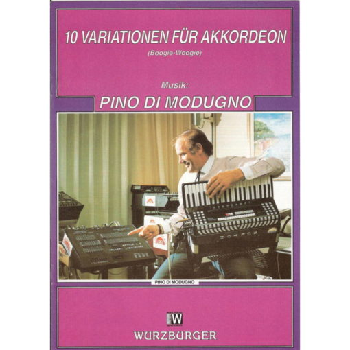 Boogie Woogie and Variations for Accordion by Pino Di Modugno