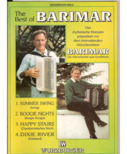 A four piece album by the wonderful accordionist, band-leader, composer, and one-time EIAR radio orchestra leader, from Parma, Italy - Barimar. Summer Swing Boogie Nights Happy Stairs Dixie River